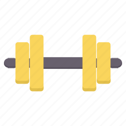 dumbbell, exercise, fitness, gym, gyming icon