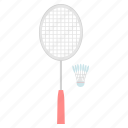 badminton, game, shuttle, shuttlecock, sports icon