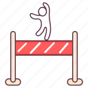 finish, finish banner, finish line, finish race, finishing line, goal, marathon checkpoint icon