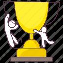 achievement, award, reward, trophy, victory icon