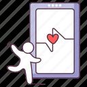 health app, medical app, mobile app, mobile health, online healthcare icon