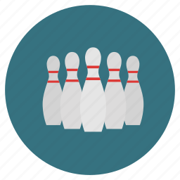 activities, athletic, bowl, bowling, colored, colorful, cricket, game, lane, pin, pins, roll, round, score, sport, sports icon