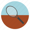 activities, athletic, colored, colorful, fitness, gmae, play, racquet, round, sport, sports, tennis, tennis racquets icon