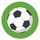 activities, activity, athletic, ball, colored, colorful, foot, football, game, green, play, round, soccer, sport, sports icon
