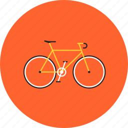 bicycle, bike, biking, cycle, cycling, healthy, ride, sport icon