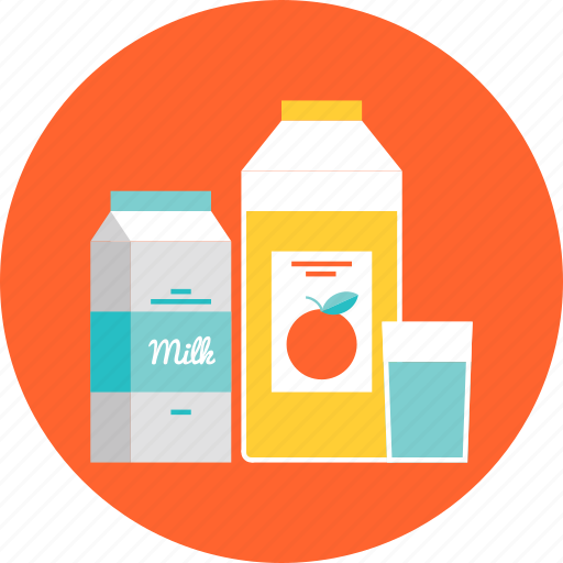 beverages, diet, drink, food, healthy, juice, milk, nutrition, products icon