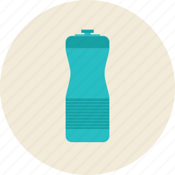 bottle, container, drink, fitness, flask, refreshment, sport, water icon
