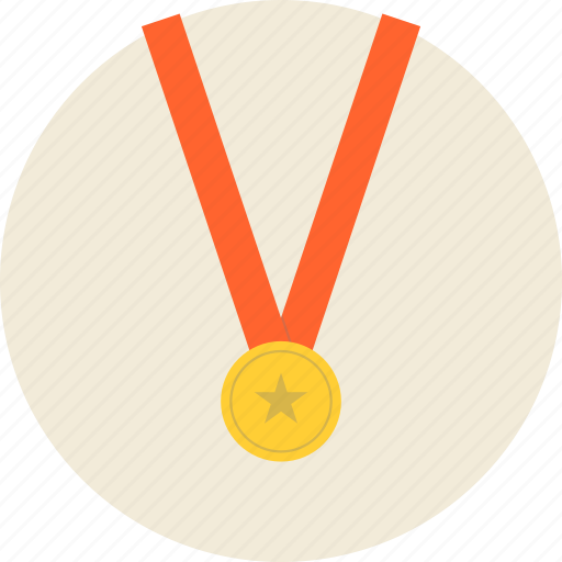 award, champion, competition, contest, gold, medal, success, win, winner icon