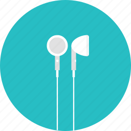 apple, audio, earbuds, earphones, headphones, listen, music icon