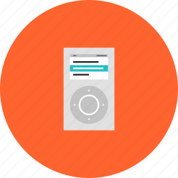 ipod, media, mp3, music, player icon