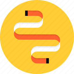 fit, fitness, loss, measure, measuring, scale, tape icon