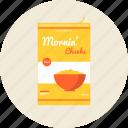 breakfast, calories, cooking, corn, diet, flake, food, nutrition, oatmeal, porridge, wellness icon