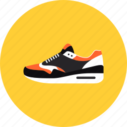 fitness, footwear, marathon, running, shoe, shoes, sneakers, sport, training icon