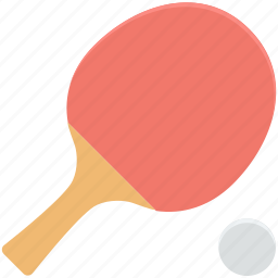 ping pong, sports, table tennis, tennis ball, tennis racket icon
