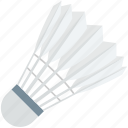badminton, badminton birdie, feather shuttlecock, shuttlecock, sports icon