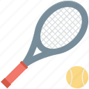 racket, squash racket, sports, tennis racket, tennis ball