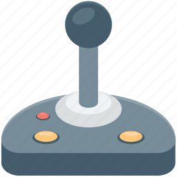 control column, game controller, joystick, playstation, video game icon