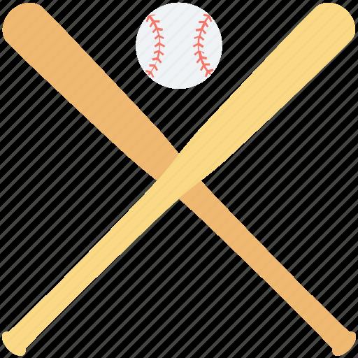 baseball, baseball bat, baseball equipment, game, sports icon
