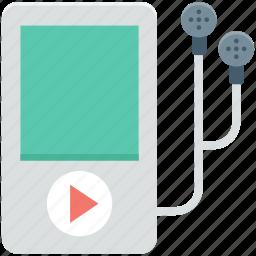 earphones, ios device, ipod, music player, walkman icon