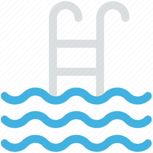 pool ladders, swimmer, swimming, swimming pool icon