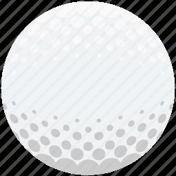 ball, game, golf, golf ball, sport icon