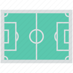 football ground, football pitch, soccer field, soccer ground, stadium icon
