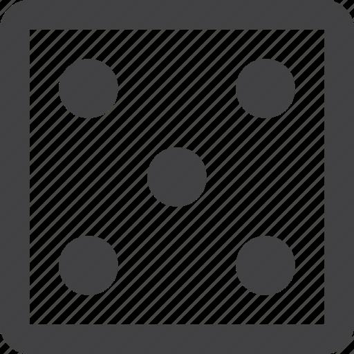 Dice, gambling, game, random, randomness icon - Download on Iconfinder