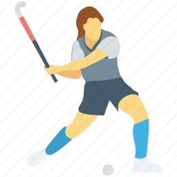 field hockey, hockey player, ice hockey, player, sportsman icon