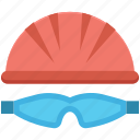 cyclist, glasses, helmet, player, player avatar icon