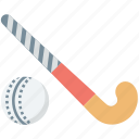 ball, field hockey, hockey, hockey stick, sports icon