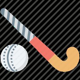 ball, field hockey, hockey, hockey stick, sports icon