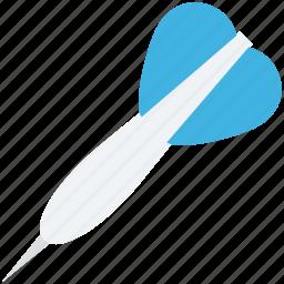 bullseye arrow, dart, dart pin, dart stick, target icon