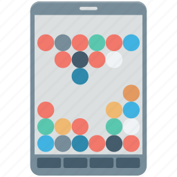 bubble game, device, gaming, mobile game, video game icon
