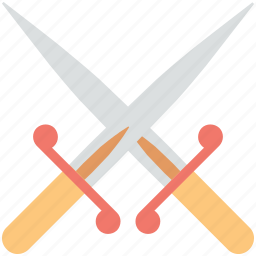 fight, medieval, medieval swords, swords, two swords icon