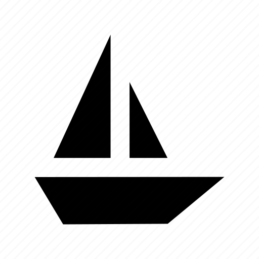 boat, boating, sailboat, sailing, yacht icon