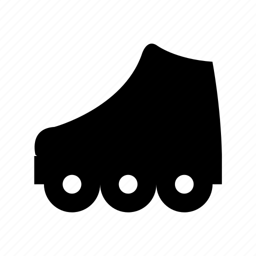 inline skates, roller skates, rollerblading, skates, skates shoes icon
