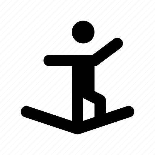 wakeboarding, water skiing, water sports, water surfing, wave riding icon