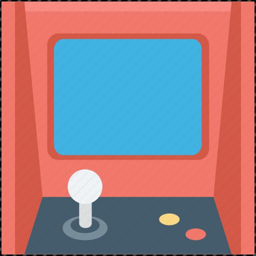 arcade machine, game, game console, game machine, video game icon