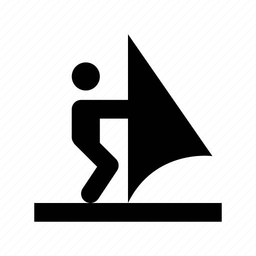 wakeboarding, water sports, water surfing, waterski, wave riding icon