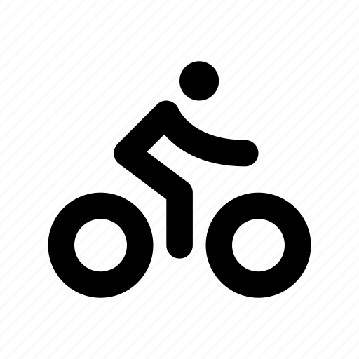 bicycle, bike, cycle, cycle race, cyclist icon