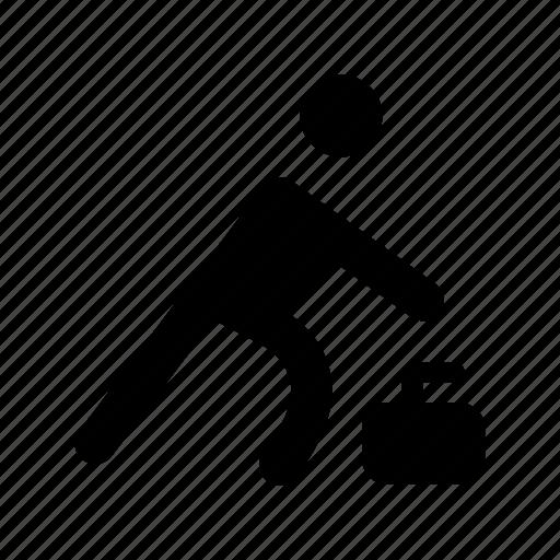 athlete, runner, sportsman icon