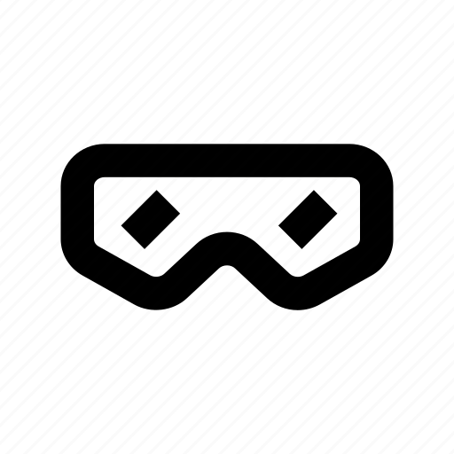 eyewear, glasses, stereo glasses, stereoscopic glasses icon