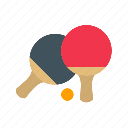 ball, game, pair, pingpong, racket, sport icon