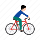 competitive, cyclist, game, helmet, triathlon, wheel icon