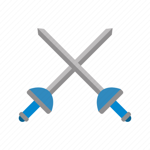 fencing, olympics, sword icon