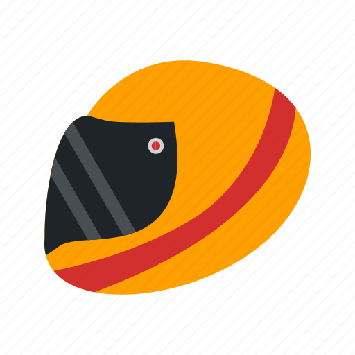 halmet, helmet, racing helmet icon