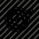 bullseye, goal, strategy, target icon