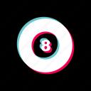 ball, billiard, game, pool icon