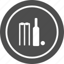 ball, cricket, sport, stumps icon