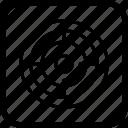 archery, board, dart, goal, target icon
